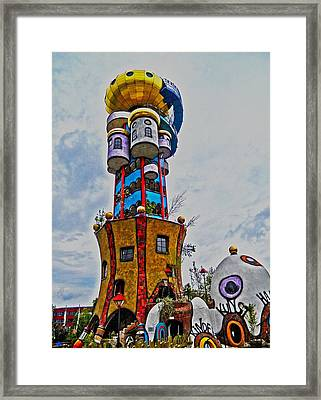 The Kuchlbauer Tower Framed Print by Juergen Weiss