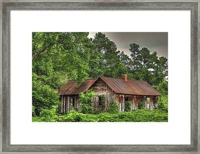The Kudzu House 2 Framed Print