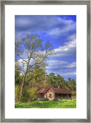 The Kudzu House Framed Print