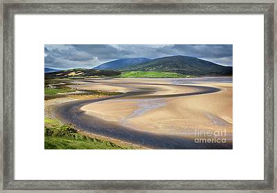 The Kyle Of Durness Framed Print by Janet Burdon