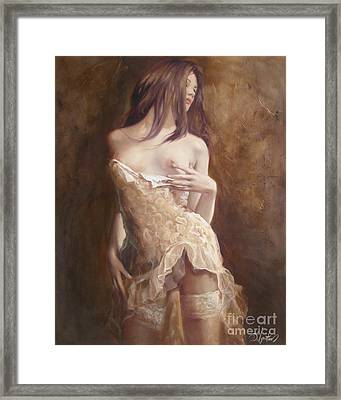 The Laces Framed Print by Sergey Ignatenko