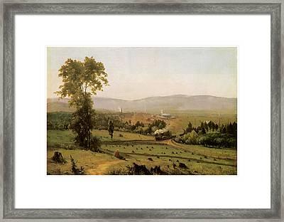 The Lackawanna Valley Framed Print