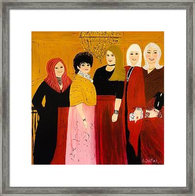 The Ladies Framed Print