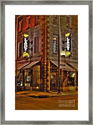 The Lady And Sons  Framed Print by Corky Willis Atlanta Photography