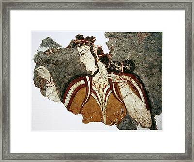 The Lady From Mycenae Framed Print by Celestial Images