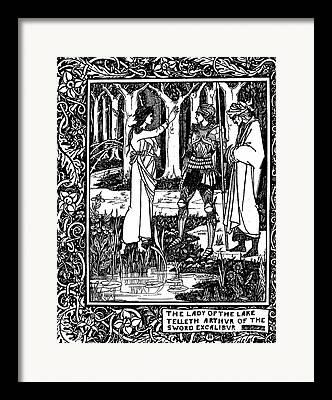 Merlin Drawings Framed Prints