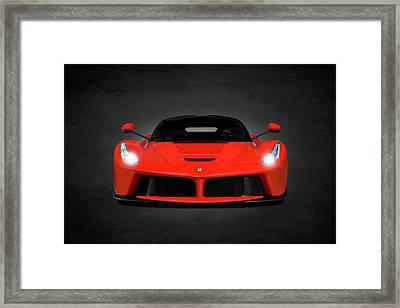 The Laferrari Framed Print by Mark Rogan