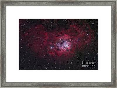 The Lagoon Nebula Framed Print by Robert Gendler
