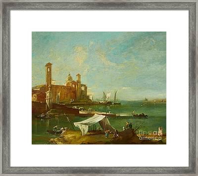 The Lagoon Of Venice Framed Print
