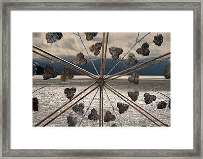 The Lake Gate Framed Print