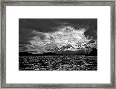 The Lake Framed Print by John K Sampson