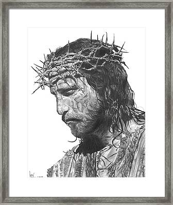 The Lamb Framed Print by Bobby Shaw
