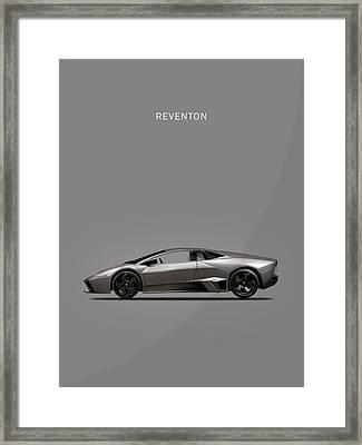 The Lamborghini Reventon Framed Print by Mark Rogan