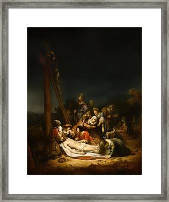 The Lamentation Framed Print by Mountain Dreams