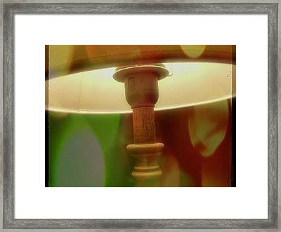 The Lamp Framed Print by Contemporary Art