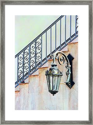 The Lamp Framed Print by Pat Carosone