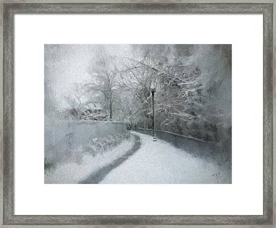 The Lamppost Framed Print