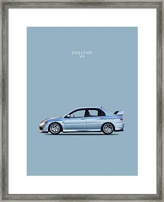 The Lancer Evolution Viii Framed Print