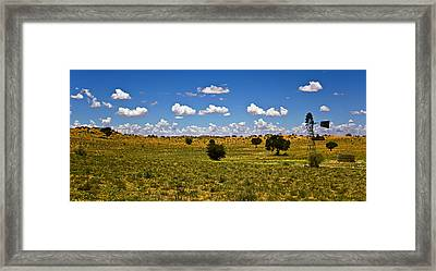 The Land Of The Free Framed Print by Basie Van Zyl