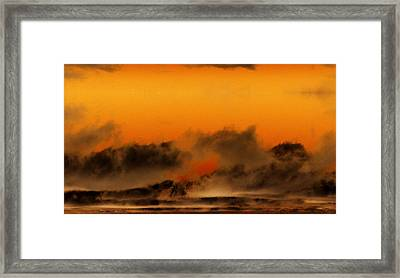 The Land Of The Iroquois Framed Print by Geoff Simmonds