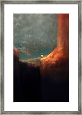 The Landing Framed Print by Ethan Harris