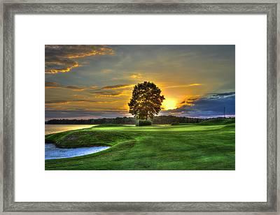 The Landing Golf Course Reynolds Plantation Framed Print by Reid Callaway