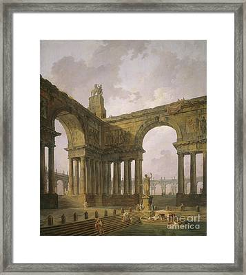 The Landing Place Framed Print