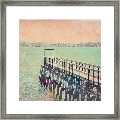 The Landing Quincy Framed Print by Brandi Fitzgerald