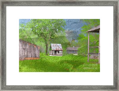 The Lasource-durand House  Framed Print by Larry Braun