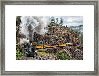 The Last Bend Framed Print