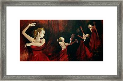 The Last Dance Framed Print by Dorina  Costras