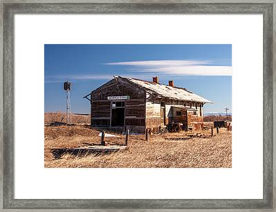 The Last Depot Framed Print by Todd Klassy