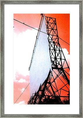 The Last Drive-in Framed Print