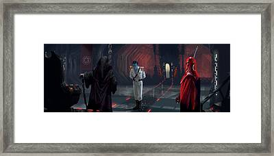 The Last Grand Admiral Framed Print
