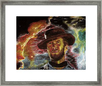 The Last Gunslinger Framed Print by Matthew Fredricey