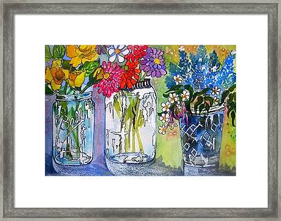 The Last Jars Framed Print