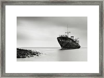The Last Journey Framed Print