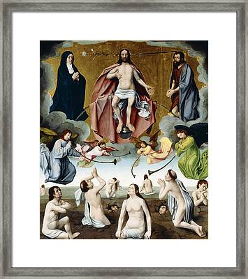 The Last Judgement Framed Print by Jan Provost