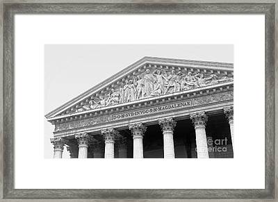 The Last Judgment Framed Print by Ann Horn