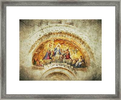 Venice - Byzantine Art Framed Print by Connie Handscomb