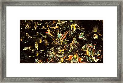 The Last Judgment, Fragment Framed Print
