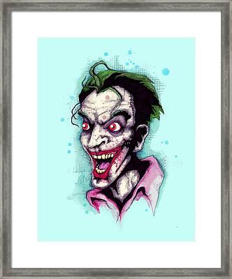 The Last Laugh Framed Print