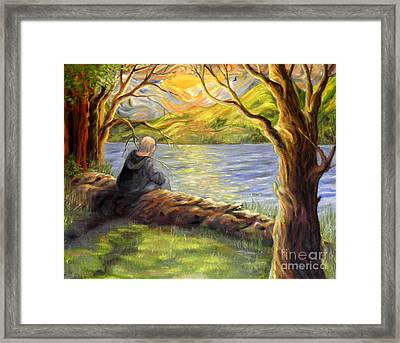 The Last Look Framed Print