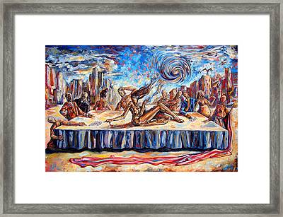 The Last Muse Framed Print by Darwin Leon
