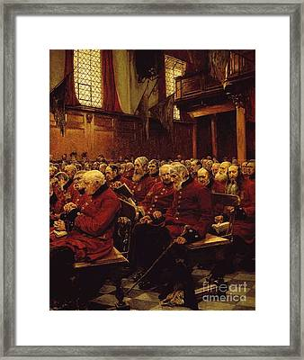 The Last Muster Framed Print by MotionAge Designs