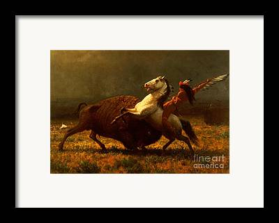 American Indian Framed Prints