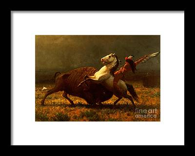 Native American Framed Prints