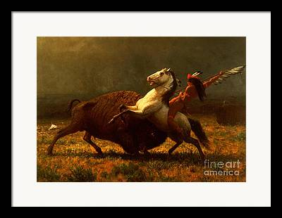 American West Framed Prints