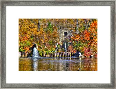 The Last Of The Old Mill Framed Print by Robert Pearson