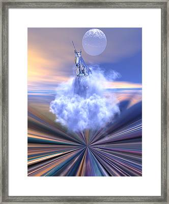 The Last Of The Unicorns Framed Print by Claude McCoy